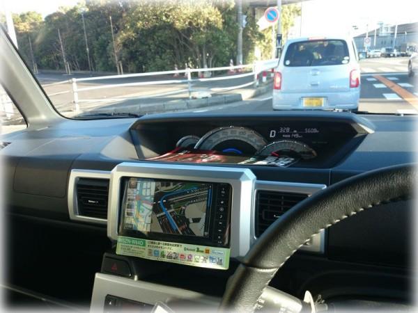 ウェイクの運転席から見たメーター画像